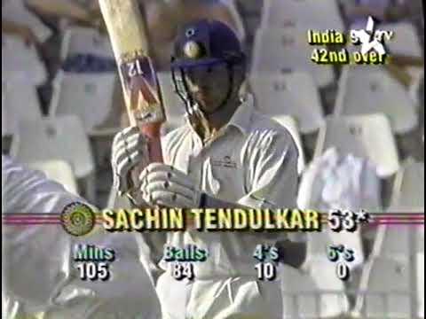 Sachin Tendulkar 111 vs South Africa johannesburg 1992 extended highlights