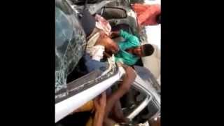 Raw Footage Of Pijush Ganguly's Road Accident