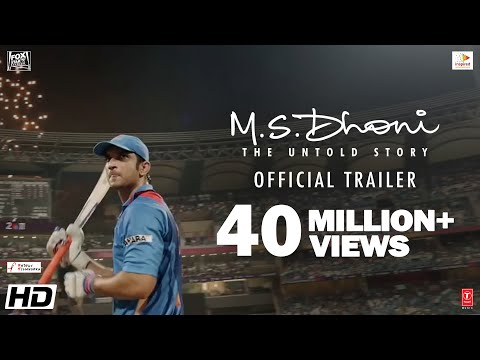 MS Dhoni - The Untold Story Official Trailer FullHD