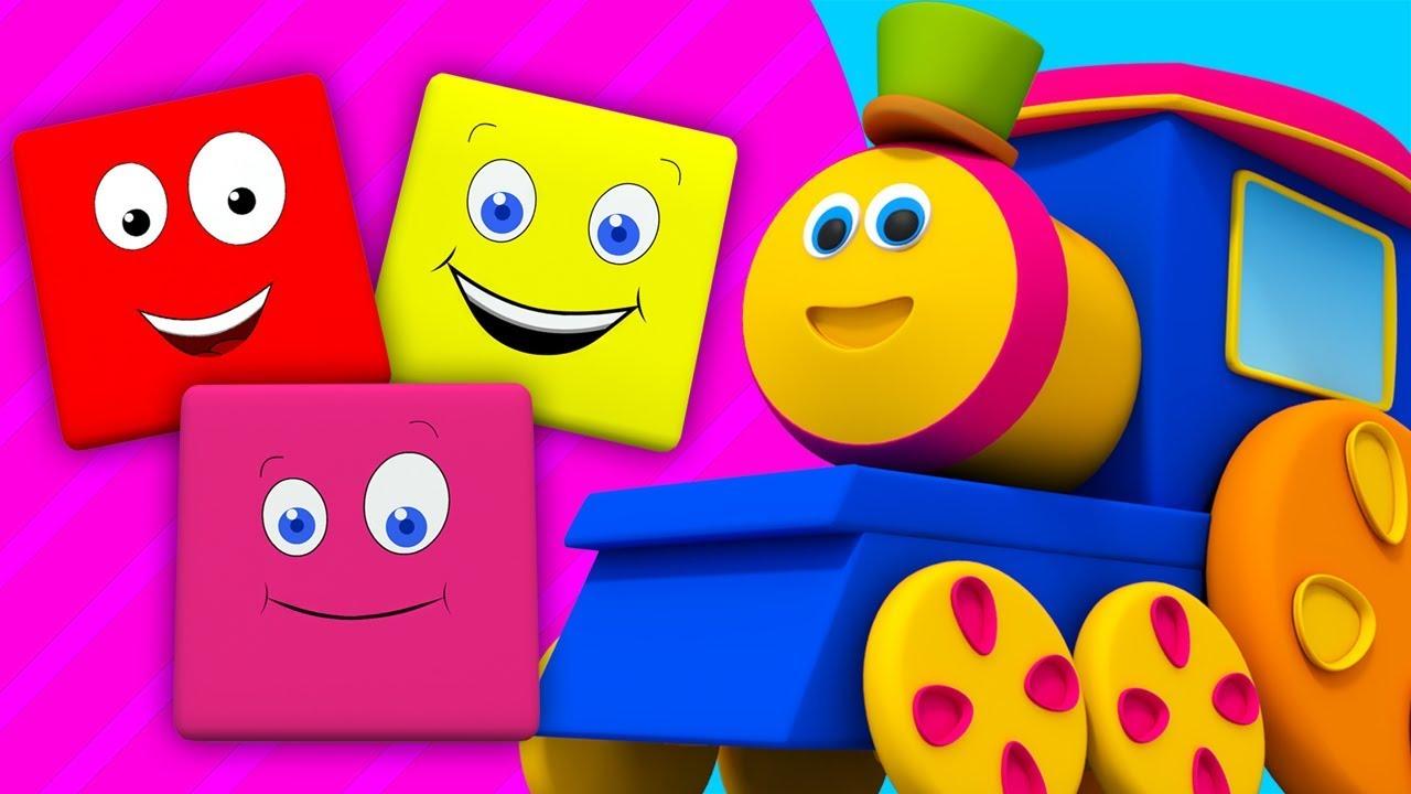 Bob il treno cavalcata di colori educativo canzone