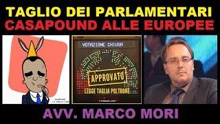 Taglio dei parlamentari? NO GRAZIE! - CasaPound alle europee 2019 | Avv. Marco Mori