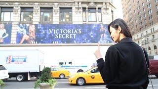Ming Xi in Victoria's Secret