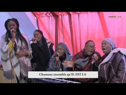 AESEF CHARITY - les chantres nous exhortent à rester fort et dans la prière