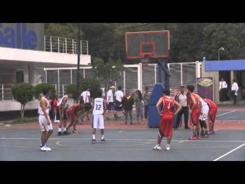 UNAM vs Casas Blancas en la liga de basquetbol La Salle, Ciudad de México