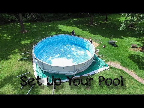 Setting Up Your Steel Frame Above Ground Pool - Intex, Coleman, Summer Escapes