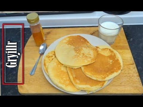 Pancakes Without Baking Powder and Baking Soda