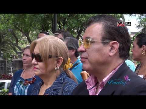 """""""Бессмертный полк"""".El acto """"Regimiento Inmortal"""".Costa Rica.TV.Canal CB24 """"Hoy con Penélope"""" 6.05.17"""