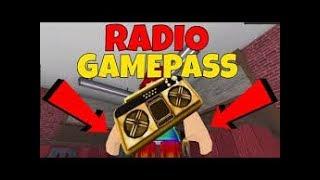 Cómo poner un gameparse de radio en ROBLOX Studio