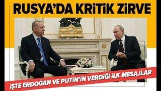 Başkan Erdoğan İle Putin Görüşmesi Başladı! Son Gelişmeler / A Haber