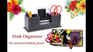 DIY Homemade Pen stand and Mobile phone holder | Desk Organizer | Craft Idea
