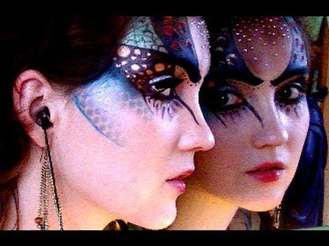 Halloween Makeup: Mother Earth - YouTube