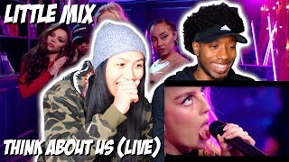 THEY KILLED IT!! | LITTLE MIX - THINK ABOUT US (AT THE BRITS ARE COMING) | LIVE PERFORMANCE REACTION
