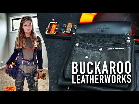 Buckaroo Belts, Nail Bags, Pouches and Accessories