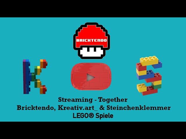 LEGO® Spiele-Talk mit Bricktendo, Kreativ.art_ & Steinchenklemmer