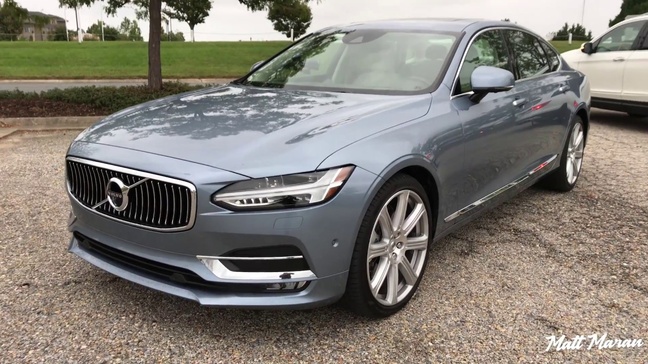 Quick Drive 2018 Volvo S90 T6 Inscription Youtube