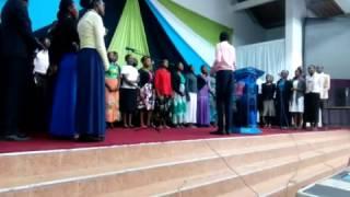 JKUSDA Church Choir: Enyi Mataifa Yote - 2016