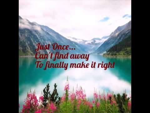 Just Once with Lyrics :James Ingram