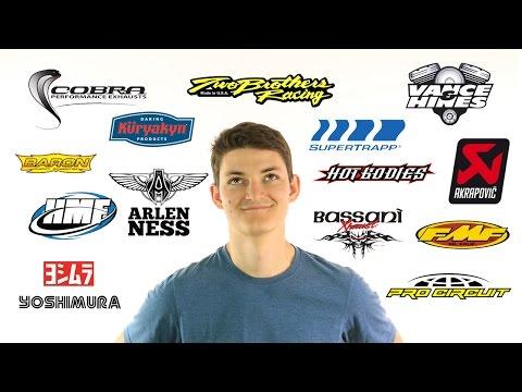 Popular Motorcycle Exhaust Brands