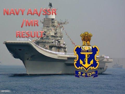 INDIAN NAVY-AA/SSR/MR RESULT DOWNLOAD FEB-2020 BATCH