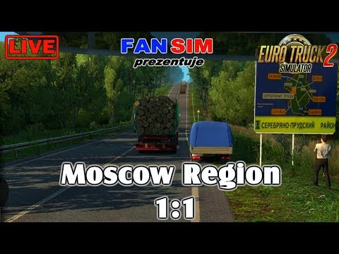 ETS2 1.30 - Moscow Region 1:1