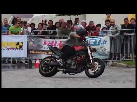 Romain Jeandrot final round Evotech Stunt Competition