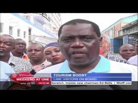 Newsdesk Full Bulletin 3rd December 2016 Cruise ship docks at Mombasa Port