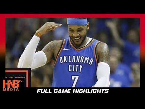 Carmelo Anthony Full Highlights vs Bucks / Week 2 / Thunder vs Bucks / 2017 NBA Season