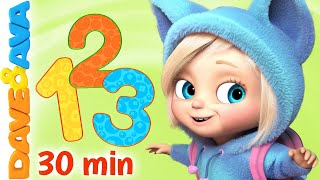 ???? One, Two, Buckle My Shoe | Nursery Rhymes & Kids Songs | Baby Songs by Dave and Ava ????
