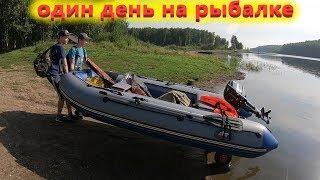 Рыбалка летом Ловля окуня на спиннинг на отводной поводок Видео рыбалки