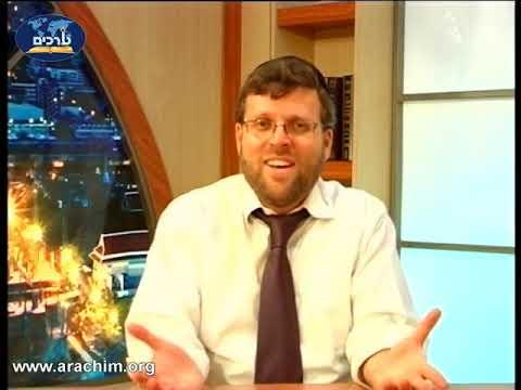 הרב זאב קצלנבוגן - הרצאה ברמה גבוהה של הרב זאב קצנלבוגן על עשרת הדיברות חלק ב חובה לצפות