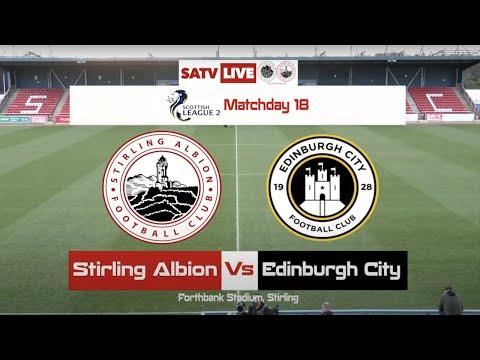 Stirling Edinburgh City Goals And Highlights