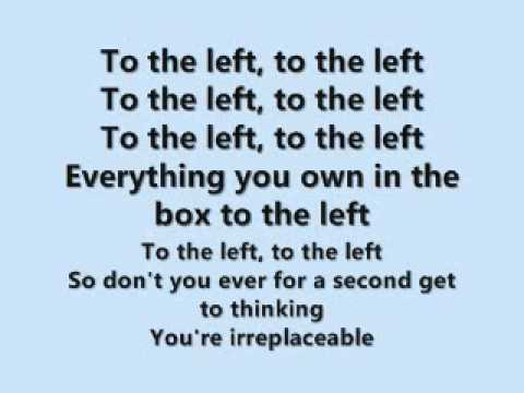 Irreplaceable (song and lyrics)