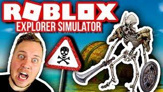 UDFORSKER EN TOMB! 👁⚠ :: Explorer Simulator Ep. 2 - Dansk Roblox