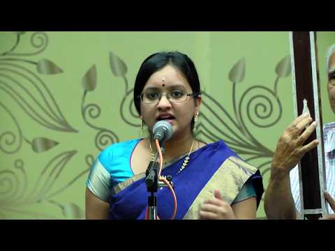 Carnatic Vocal | Shruthi Shankar Kumar | The Mylapore Fine Arts Club | December Season 2017
