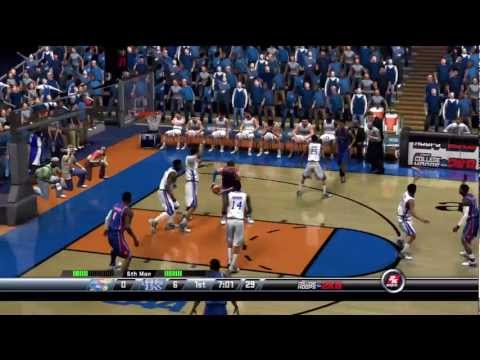 The Game Before The Game - 2012 NCAA Tournament Championship Game - College Hoops 2k8 [PS3]