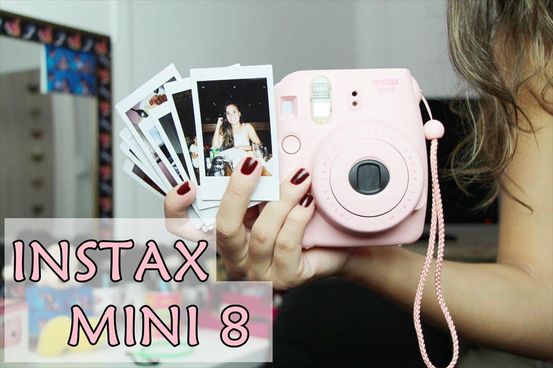 84bf55524e49d Instax Mini 8- Preço