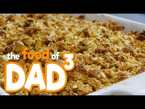 The Food of Dad³ - Yummy Plum Crumble