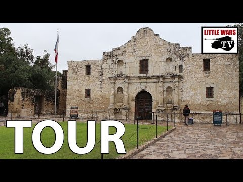 Alamo Battlefield Tour