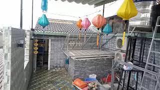 Giếng trời mái lật quận Bình Tân