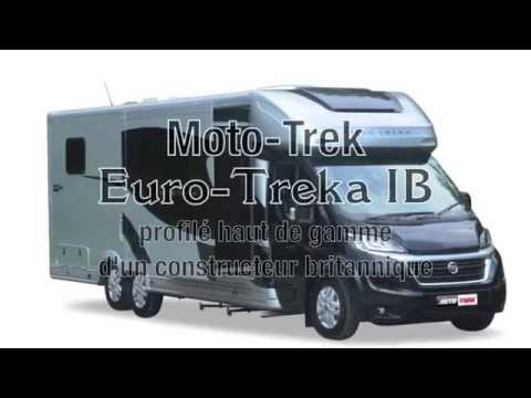 camping car eura trek ib du constructeur moto trek un gros profil tr s confortable youtube. Black Bedroom Furniture Sets. Home Design Ideas