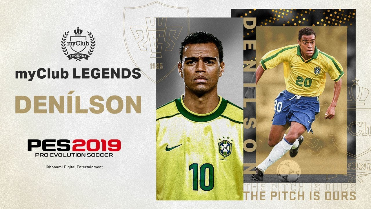 PES 2019 - New Brazilian Legend Players