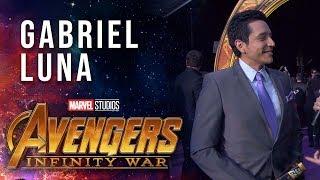 Gabriel Luna Live from the Avengers: Infinity War Premiere