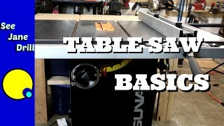 How to Buy Your First Table Saw and Get Started Using It