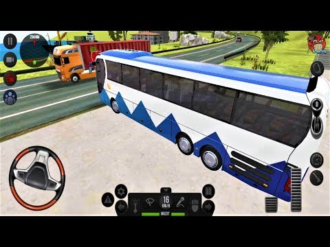 Bus Simulator: Ultimate #5 - Direksiyonlu Otobüs Oyunu -  Android Otobüs Simulator UItimate