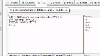 قاعدة بيانات MySQL التعليمي - 27 - كيفية إدراج صفوف متعددة