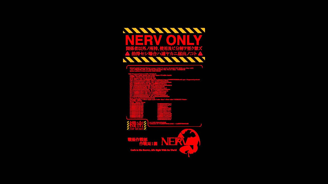 Edward Hd Wallpaper Nerv Android Boot Animation V2 Youtube