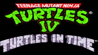 TMNT 4- Turtles In Time Music: Neon Night Riders Extended HD