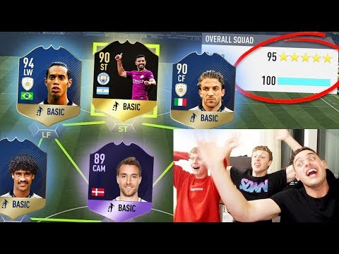 HOLY SH!T!! HIGHEST RATED YOUTUBER WORLD RECORD FUT DRAFT! - FIFA 18