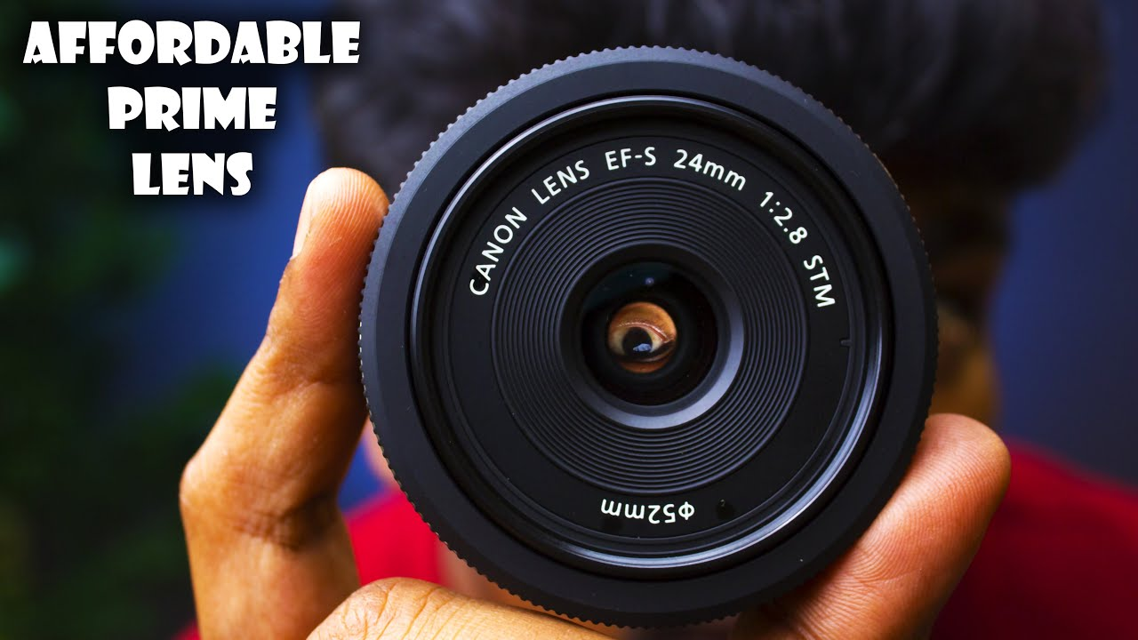 UNBOXING MY NEW CANON 24MM F2.8 STM LENS/EVERY BEGINNER SHOULD OWN THIS PRIME LENS