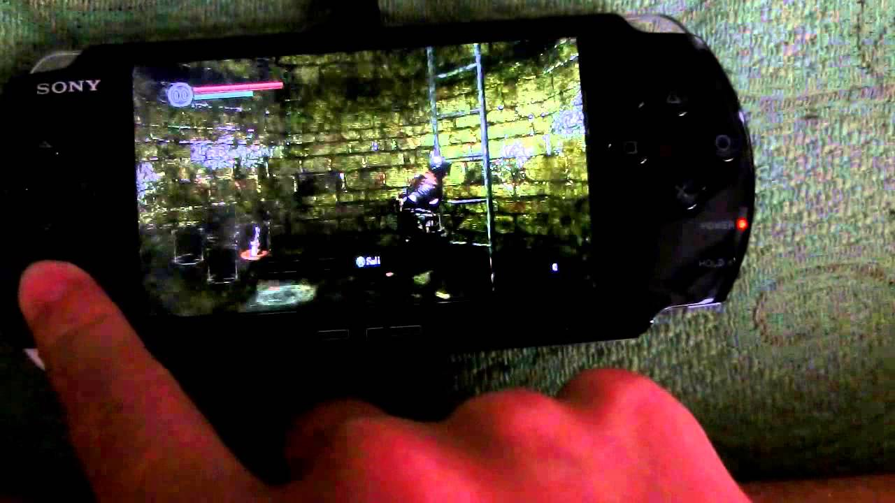 Dark Souls on PSP 3000 [Link in description]